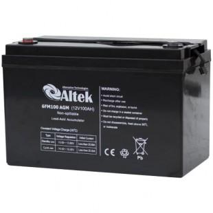 Аккумуляторная батарея Altek 6FM100AGM