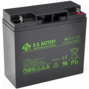 Аккумуляторная батарея BB Battery BC17-12