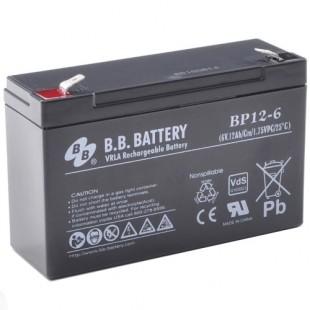 Аккумуляторная батарея BB Battery BP12-6