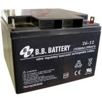 Аккумуляторная батарея BB Battery BP26-12