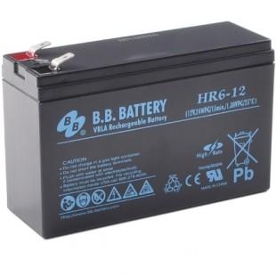 Аккумуляторная батарея BB Battery HR6-12