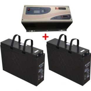 Акционный комплект: Источник бесперебойного питания Vir Electric APS 1012 + 2 Аккумуляторные батареи BB Battery FTB100-12