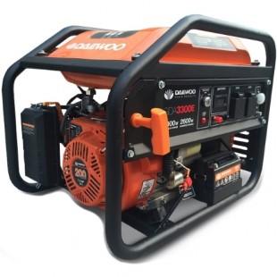 Бензиновый генератор Daewoo GDA 3300E