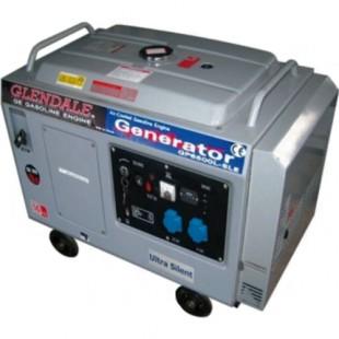 Бензиновый генератор Glendale GP6500L-SLE/3