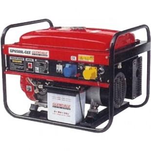 Бензиновый генератор Glendale GP6500L-GEE/3