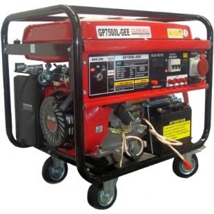 Бензиновый генератор Glendale GP7500L-GEE/3