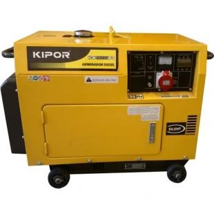 Дизельный генератор Kipor KDE 6500 T3