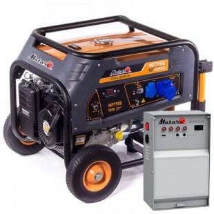 Бензиновый генератор Matari MP 7900   Блок  ATS MATARI 1P50/3P25