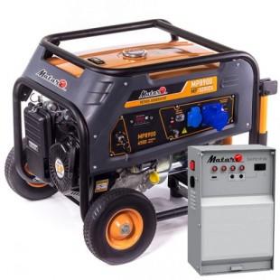 Бензиновый генератор Matari MP 8990- Блок ATS MATARI 1P50/3P25