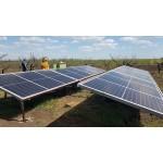 Солнечная электростанция для полива!