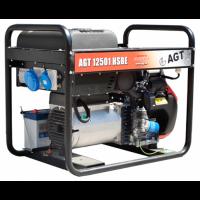 Бензиновый генератор AGT 12501 HSBE R16