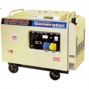 Дизельный генератор GLENDALE DP6500SLE 3 с автоматикой