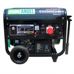 Бензиновый генератор IRON ANGEL EG5500E3