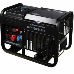 Дизельный генератор Hyundai DHY 12000LE-3