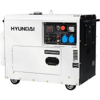 Дизельный генератор Hyundai DHY7500SE