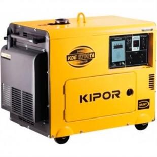 Дизельный генератор KIPOR KDА6700ТАО