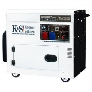 Дизельный генератор Konner&Sohnen KS 9200HDES-1/3 ATSR «HEAVY DUTY»