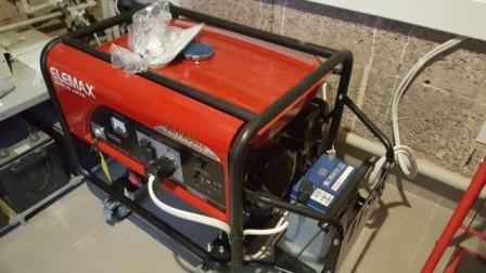 Бензиновый генератор Elemax sh 7600 ex-s