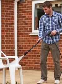 Мойка высокого давления для садовой мебели